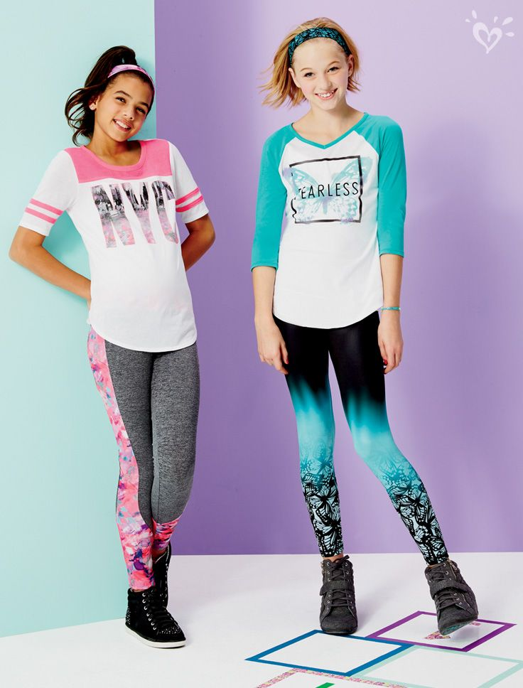 How we're wearing leggings: with made-to-match prints and ...