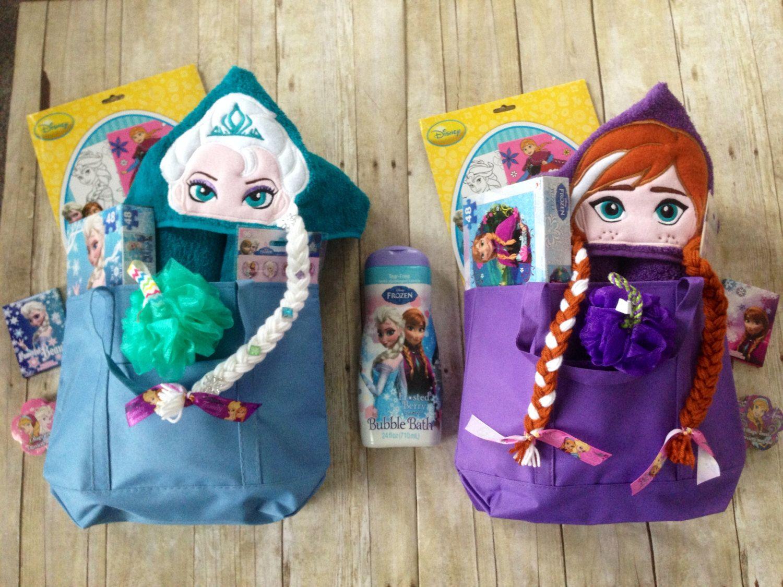 Anna Inspired Filled Easter Basket / Anna Hooded Towel Pre Filled Easter  Basket/Frozen Bath Set/ Elsa Gift Set/ Elsa Bath Gift Set By  KidsKuteKreations On ...