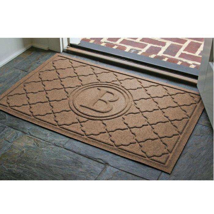 Waterhog Rugs Stop Dirt At The Door To Protect Your Floor 59 99 Brookstone Door Mat Personalized Door Mats Front Door Mats