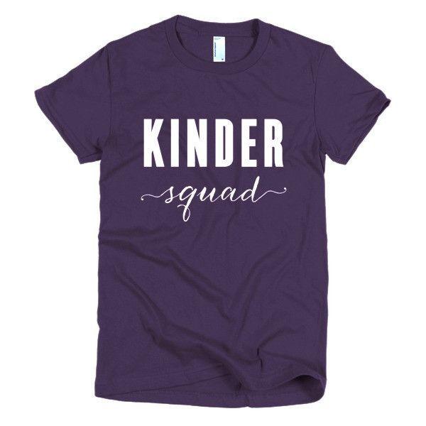 Kinder Squad- Short sleeve women's t-shirt