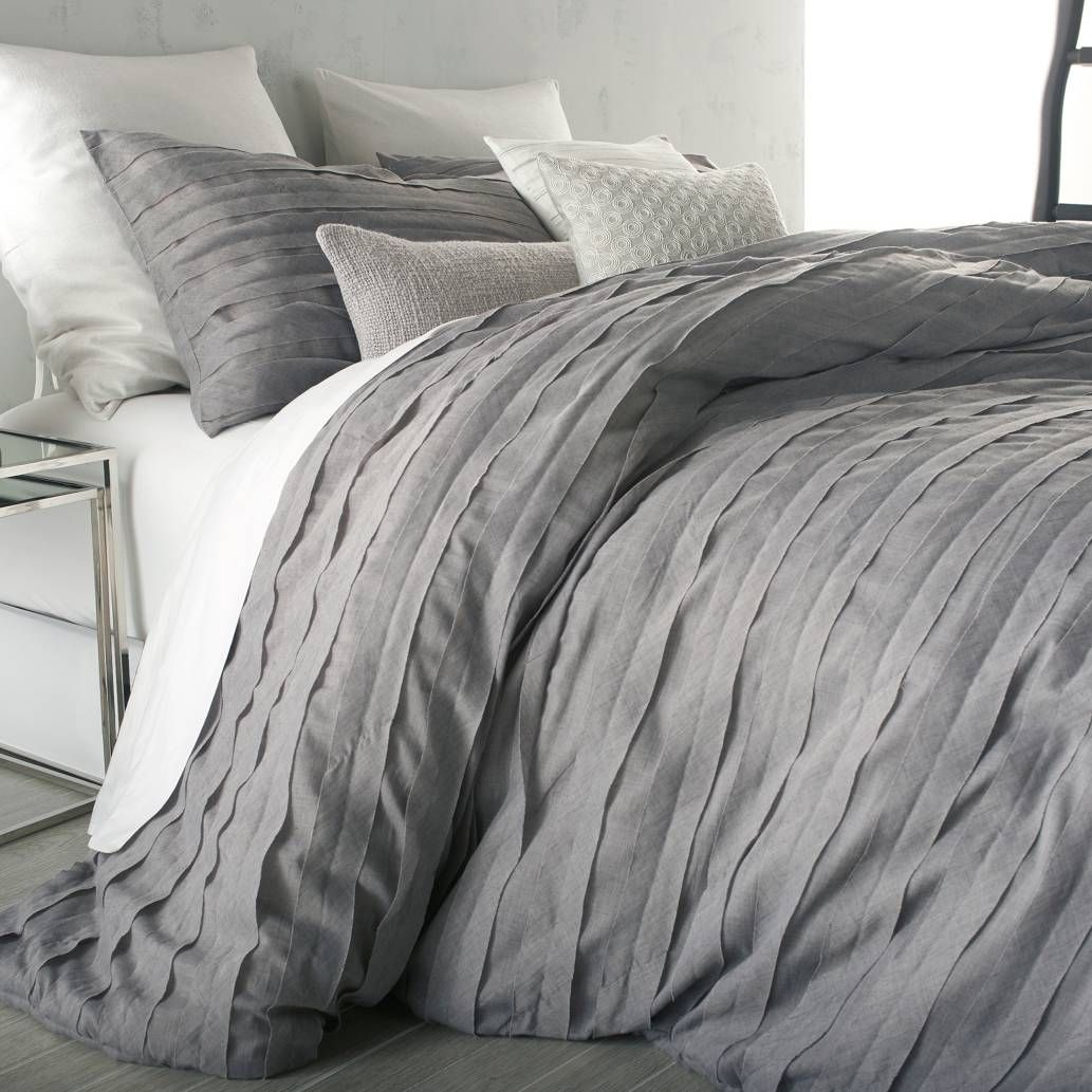 Dkny Bettwäsche Grau Product Image For Dkny Loft Stripe Comforter Set 3 Out Of 5