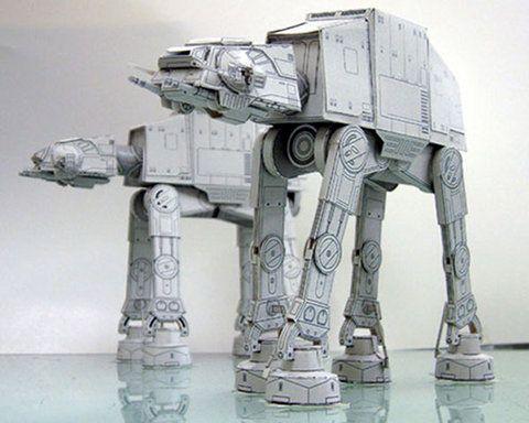 Star Wars AT-AT Walker origami