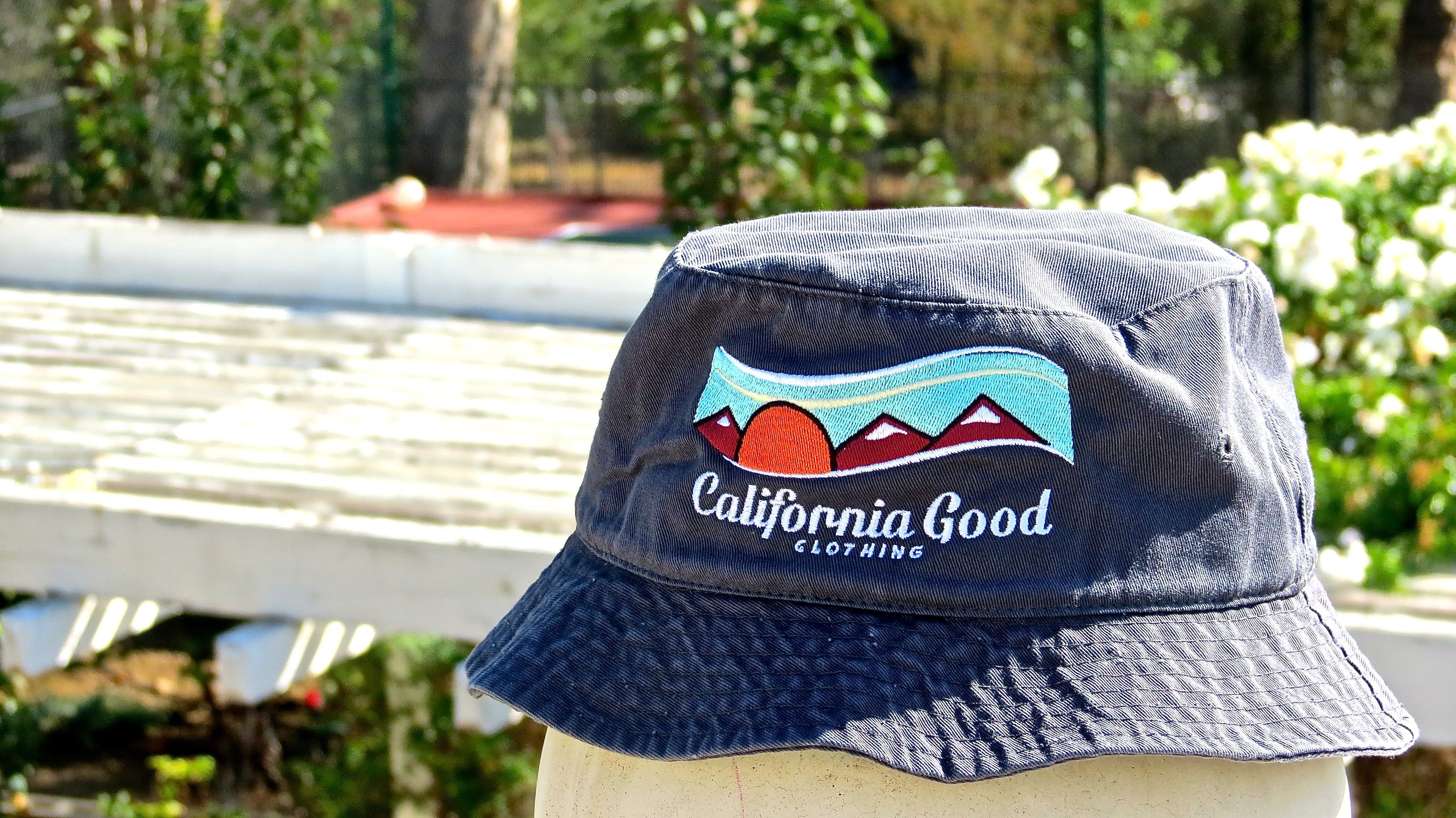 Garment Washed Bucket Hat in Charcoal Grey  #sea #ocean #view #design #nature #california #californiagood #hat #buckethat #outdoors