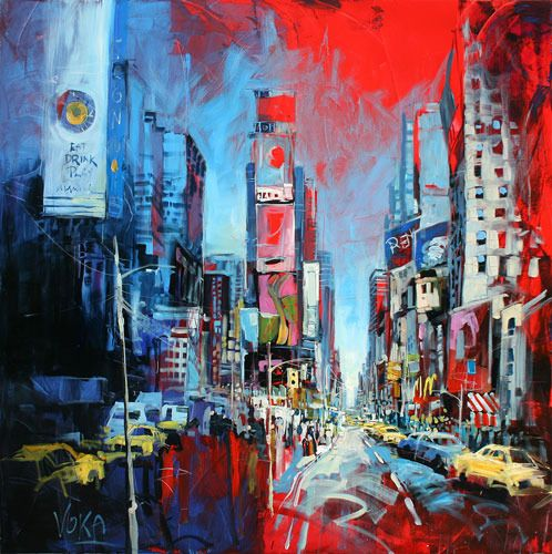 "Voka - New York ""Times Square""    Sjoe dis mooi!"