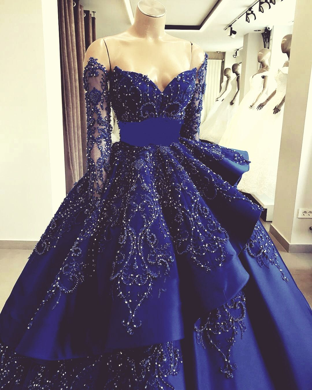 Mistress S Good Boy Bwwm In 2020 Prom Dresses Long With Sleeves Ruffle Prom Dress Prom Dresses Ball Gown [ 1350 x 1080 Pixel ]