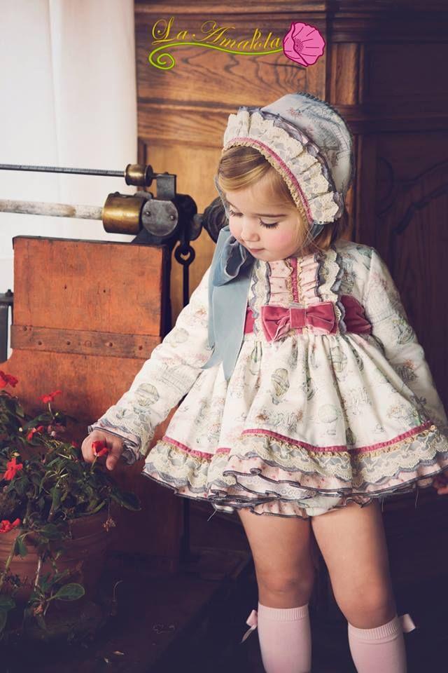 Vestidos de bebe nina bonitos