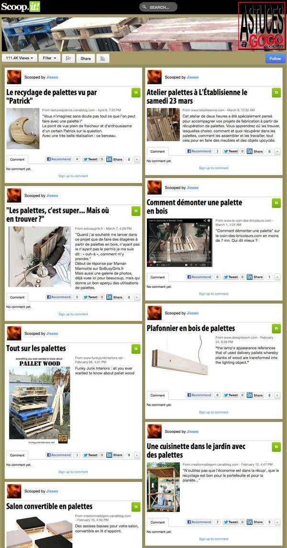 Salon de Jardin en Bois de Palette | Palettes | Pinterest