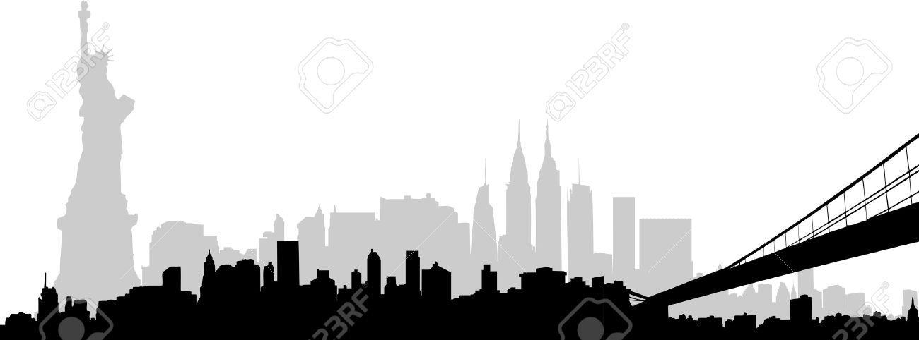 nyc skyline clipart new york skyline vector part 1300x482 8c7d53 jpg rh pinterest ca nyc skyline clipart free nyc skyline clipart free