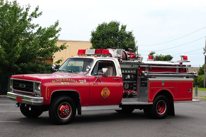 Union Fire Co 1 Kulptown Pa Brush 36 6 1975 Ford F250 Saulsbury