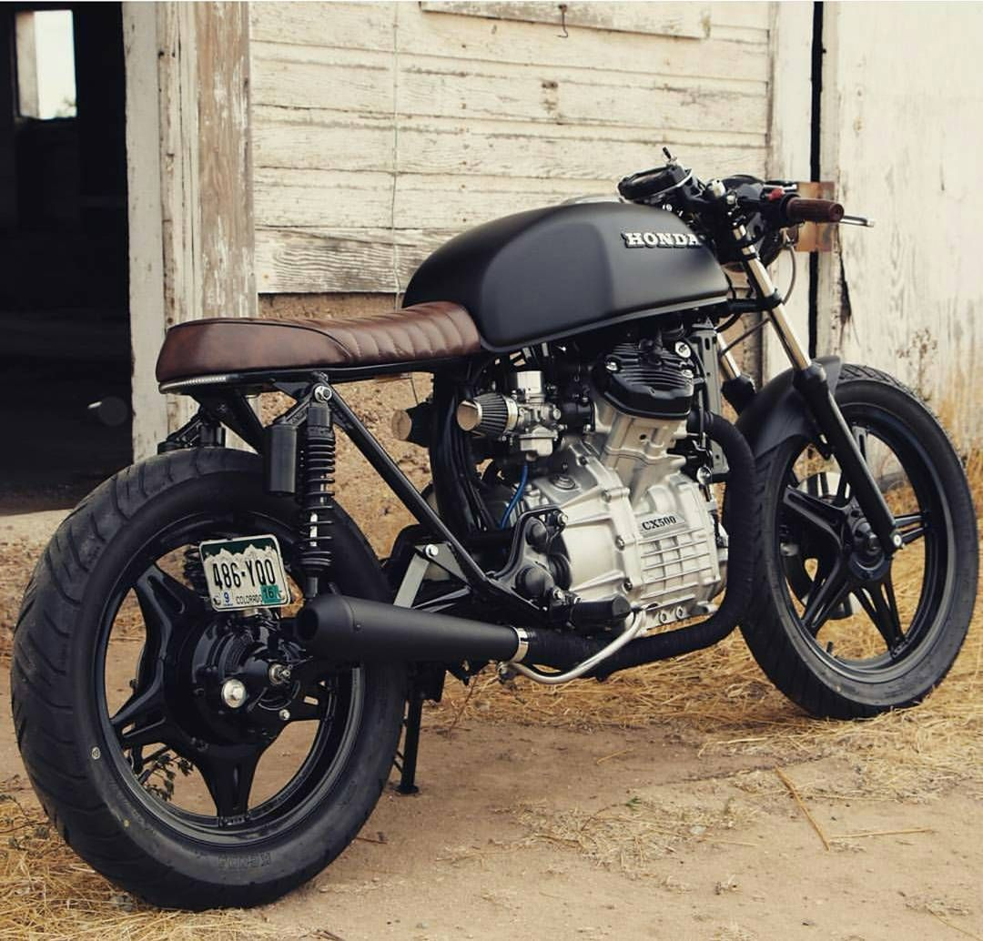 I Really Like The Overall Aesthetic Edpecially The 2 Into 1 Exhaust Cx500 Cafe Racer Cafe Racer Bikes Cafe Racer Honda