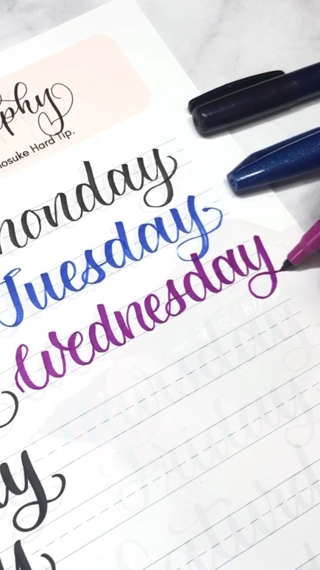 Learn To Letter The Days Of The Week