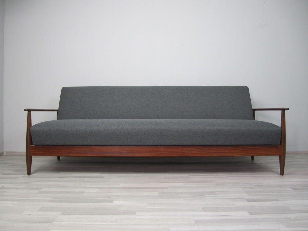 DAYBED scandinave années 50/60 - Tissu neuf - canapé   Sofa ...