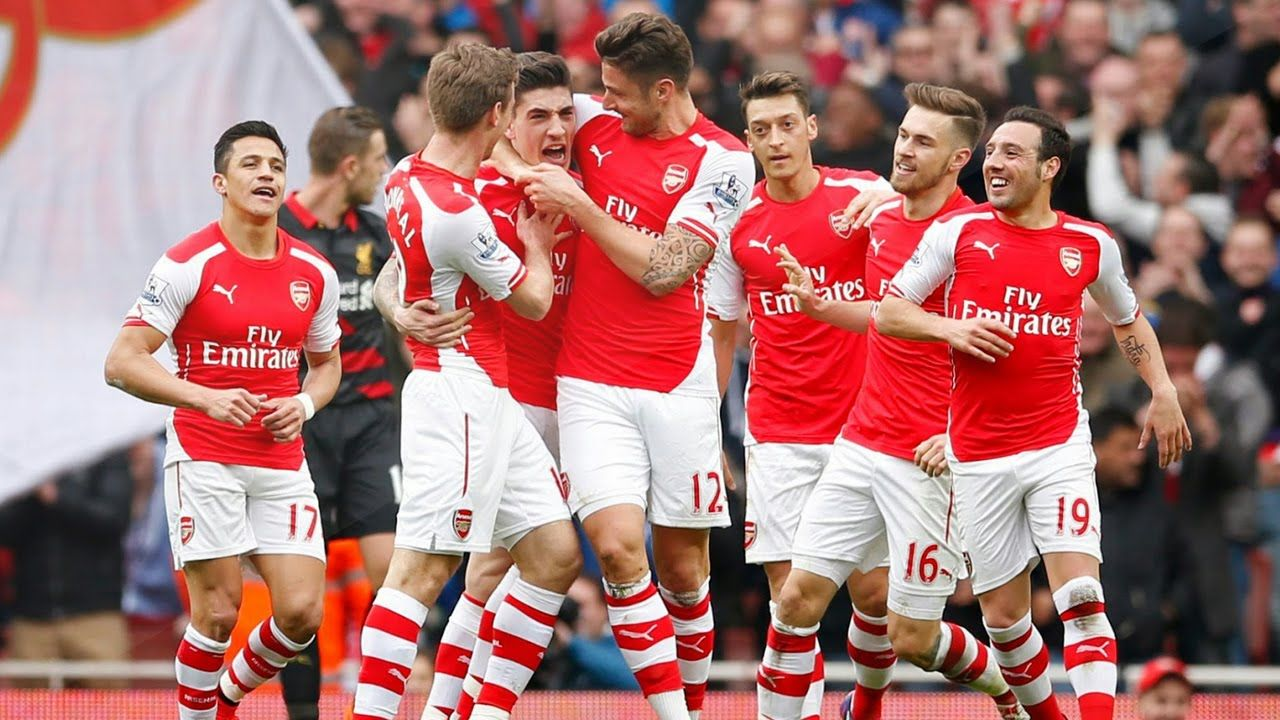 Arsenal Vs Olympiacos All Goals Highlights 29 9 2015