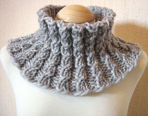 Motif de cache-col Weddell par Francesca Burras   – Knitting