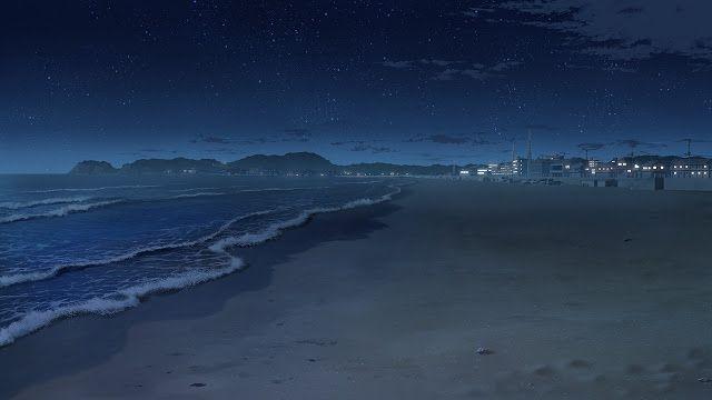 Beach Background Scenery Background Anime Scenery Anime Background