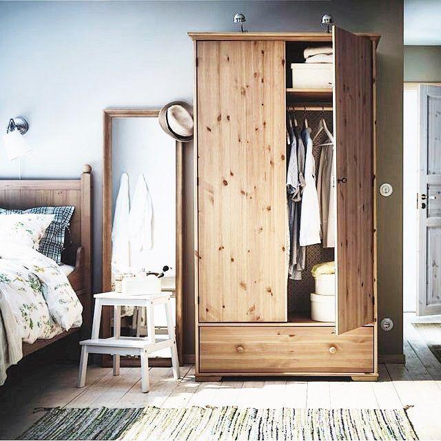 Instagram Photo By Ikea Hanau Aug 8 2016 At 3 38pm Utc Ikea Wardrobe Ikea Bedroom Pine Wardrobe