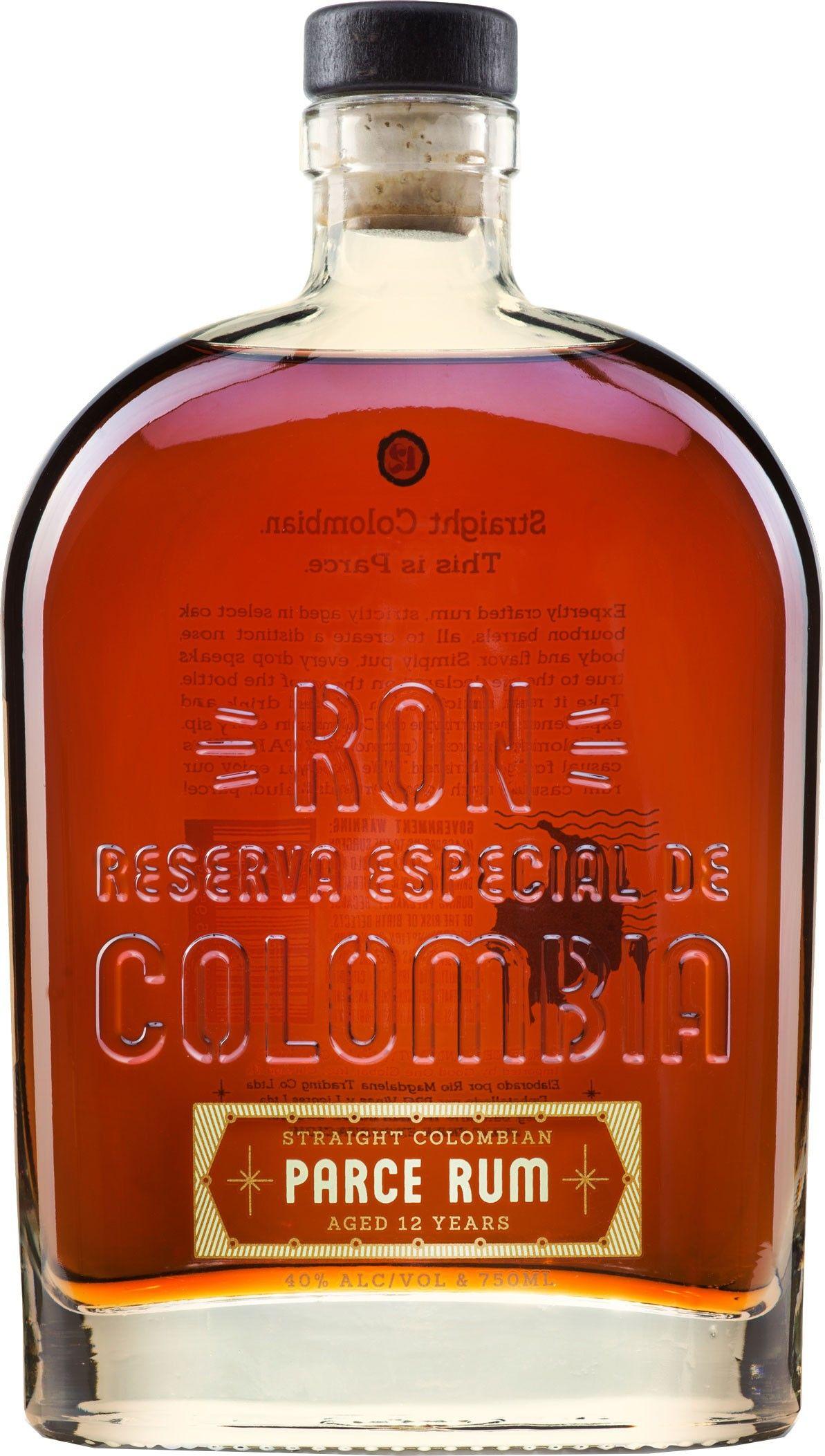 Parce 12 Year Old Straight Colombian Rum Good Rum Rum Aged Rum