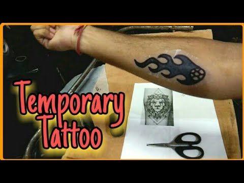 Photo of How To Make Temporary Tattoo At Home | DIY Temporary Tattoo