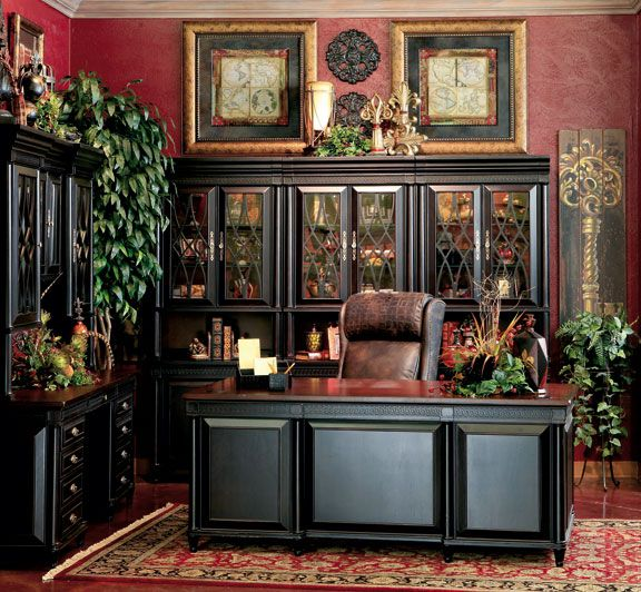 Nicolas Traditional Oval Executive Double Pedestal Desk: Hemispheres Furniture Store Young Classics Executive Home