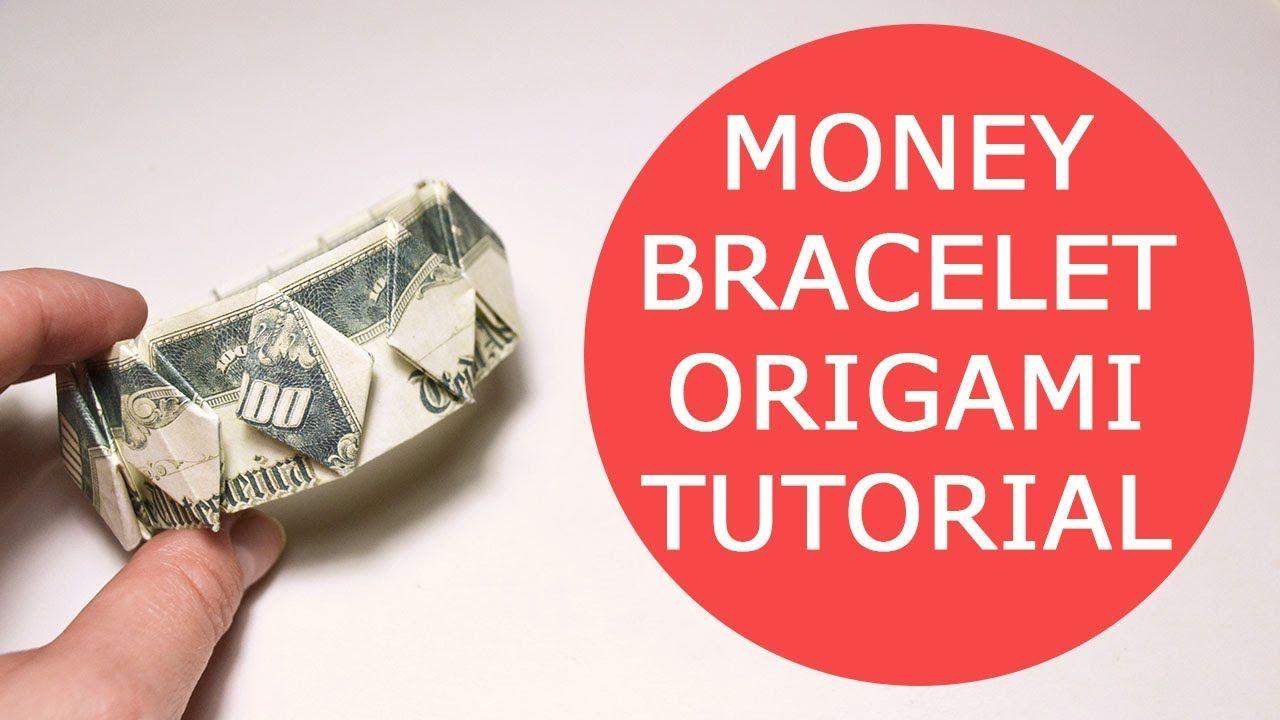 Money Bracelet Step By Origami Dollar Tutorial Diy Youtube Parrotdiagram Barth Dunkan Ecorigami