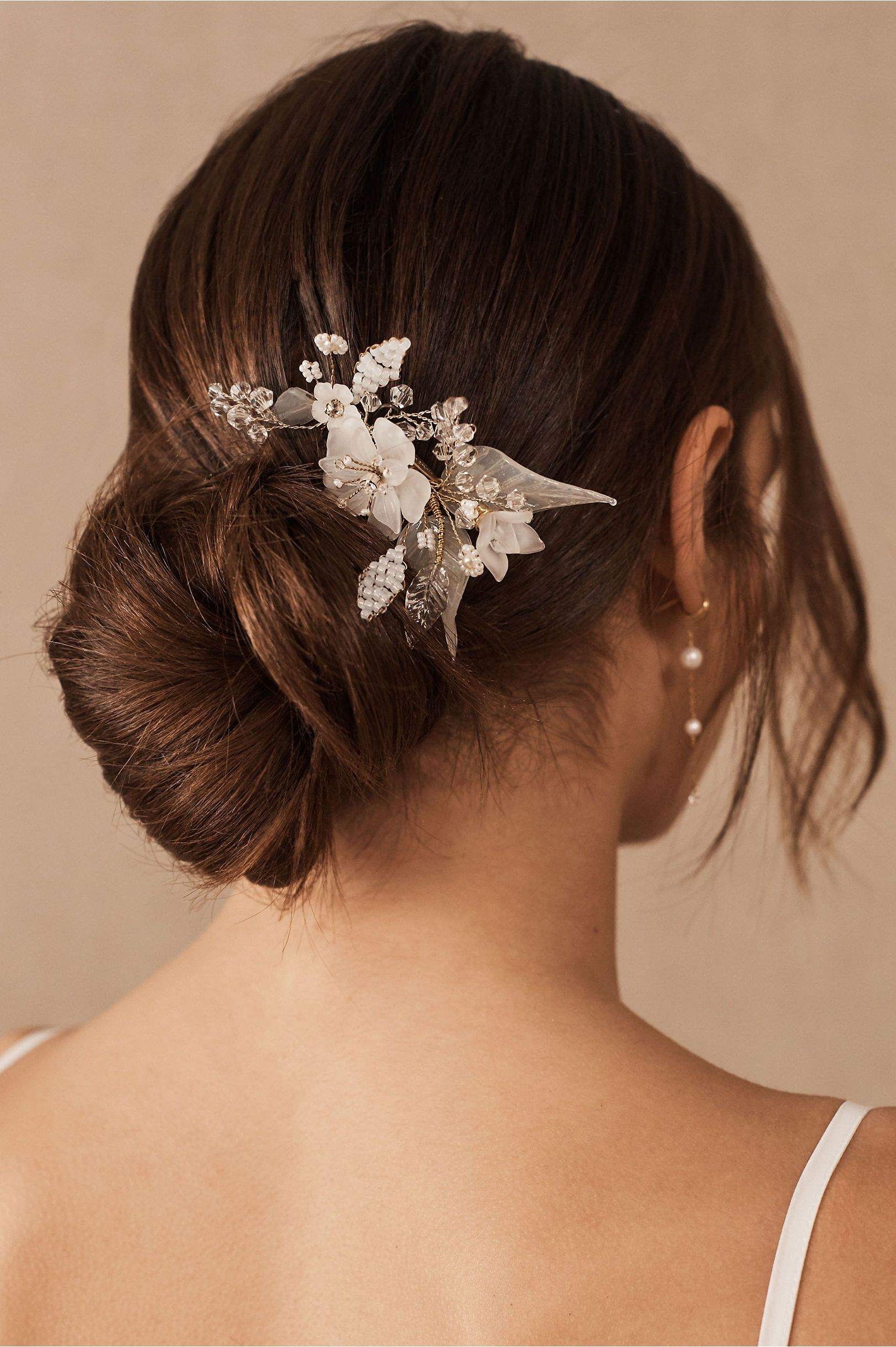 Twigs Honey Mariska Hair Comb In 2020 Bride Hair Accessories Floral Comb Cute Prom Hairstyles