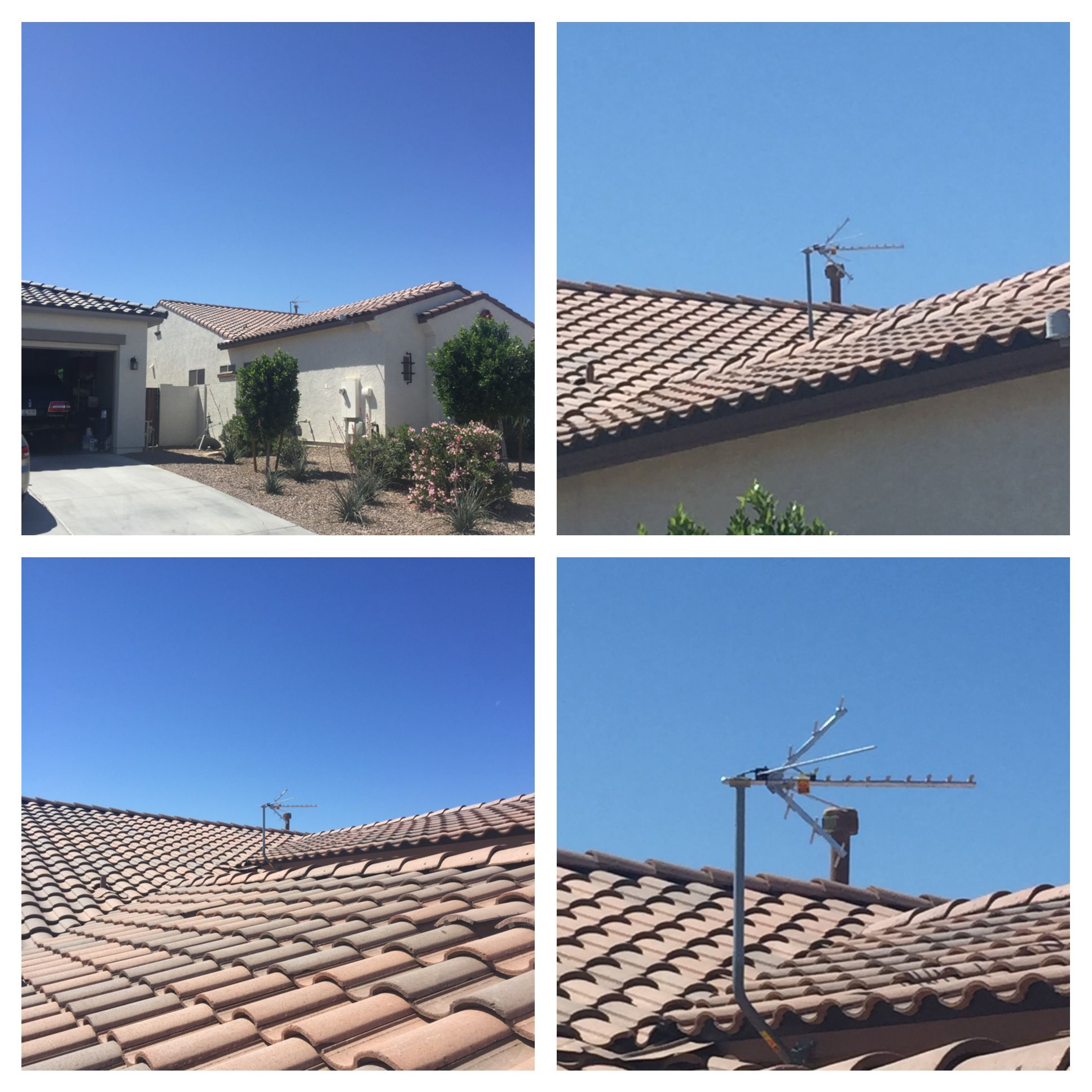 Astounding Outdoor Hdtv Antenna Installation Today In Queen Creek Arizona By Wiring Digital Resources Antuskbiperorg