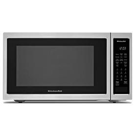 Kitchenaid 1 5 Cu Ft 1400 Watt Countertop Convection Microwave Stainless Steel Kmcc5015gss