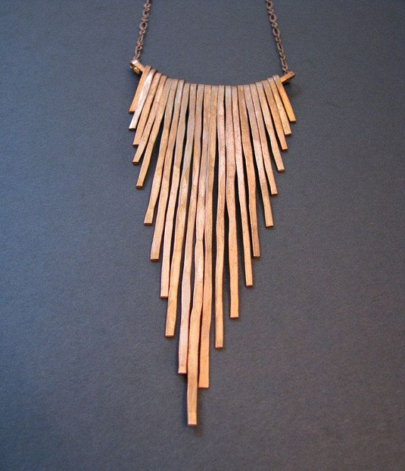 b36857f2732ac2 Bramble Necklace - Bronze - One of a kind and Made to order   Jewels ...