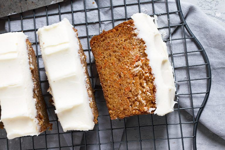 Delicious rhubarb recipes for spring carrot cake loaf