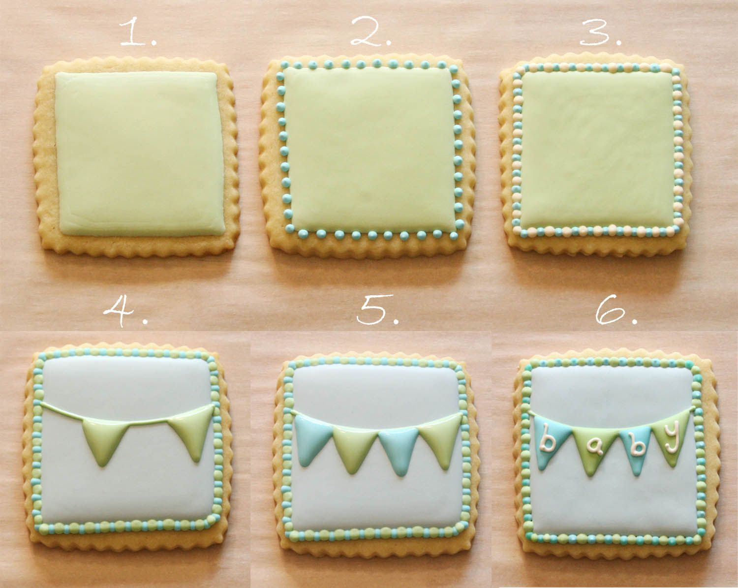 How to Make Cookie Bunting