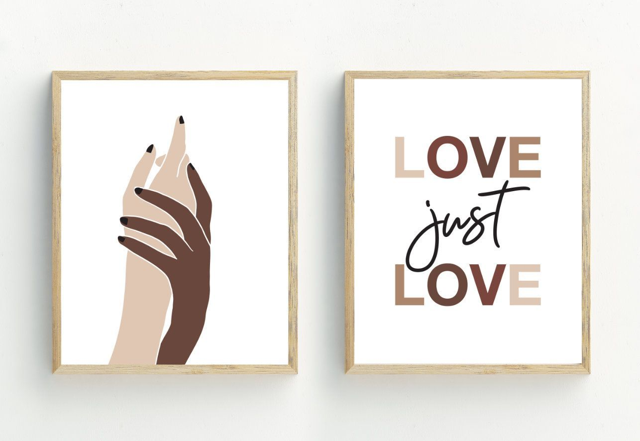 Hands Art Print Set Of 2 Equality Prints Diversity Wall Art Etsy Hands Art Print Set Of 2 Equality Prints Diversity Etsy Wall Art Art Print Set Hand Art