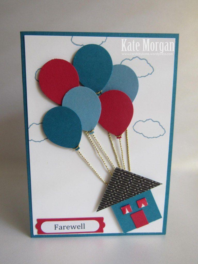 So Long Farewell Cards Handmade Goodbye Cards Diy Goodbye Cards