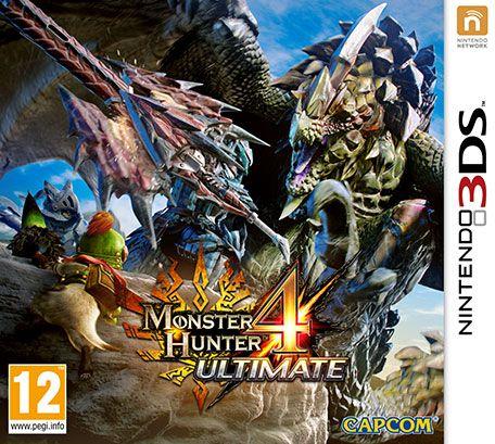 Monster Hunter 4 Ultimate N3ds Eur Español Multi Game Pc Rip Monster Hunter 4 Ultimate Monster Hunter Nintendo 3ds