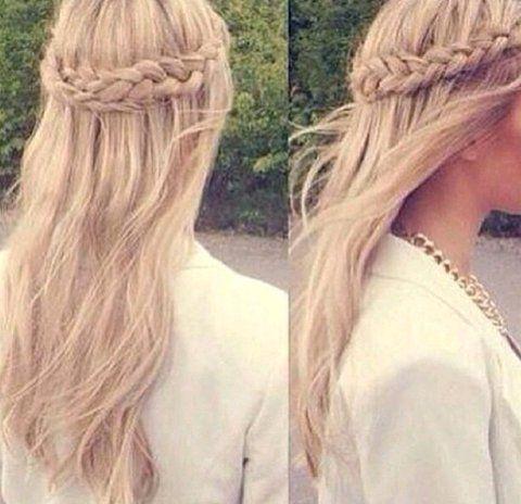 long hair layers