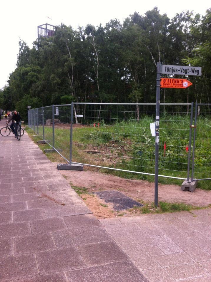 Blick Ecke Tönjes–Vagt–Weg.