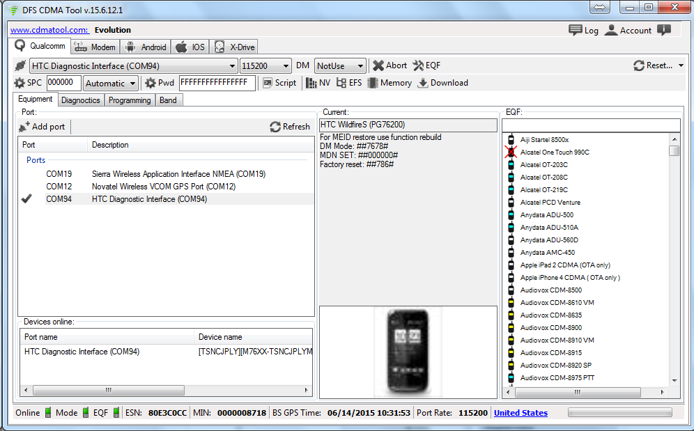 DOWNLOAD DRIVERS: ANYDATA HS-USB SERIAL DIAG