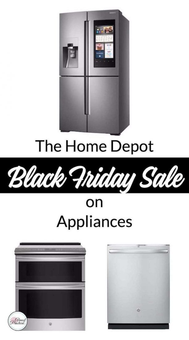 Home Depot Black Friday Sale On Appliances All Month Long