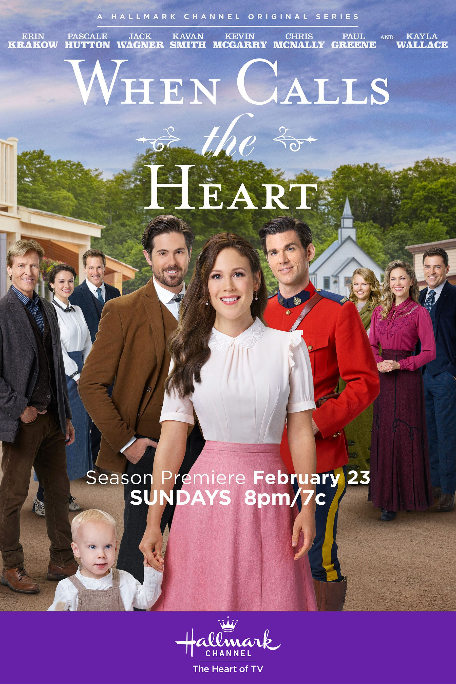 Christmas When Calls The Heart 2020 When Calls the Heart, Season 7 premieres on February 23, only on
