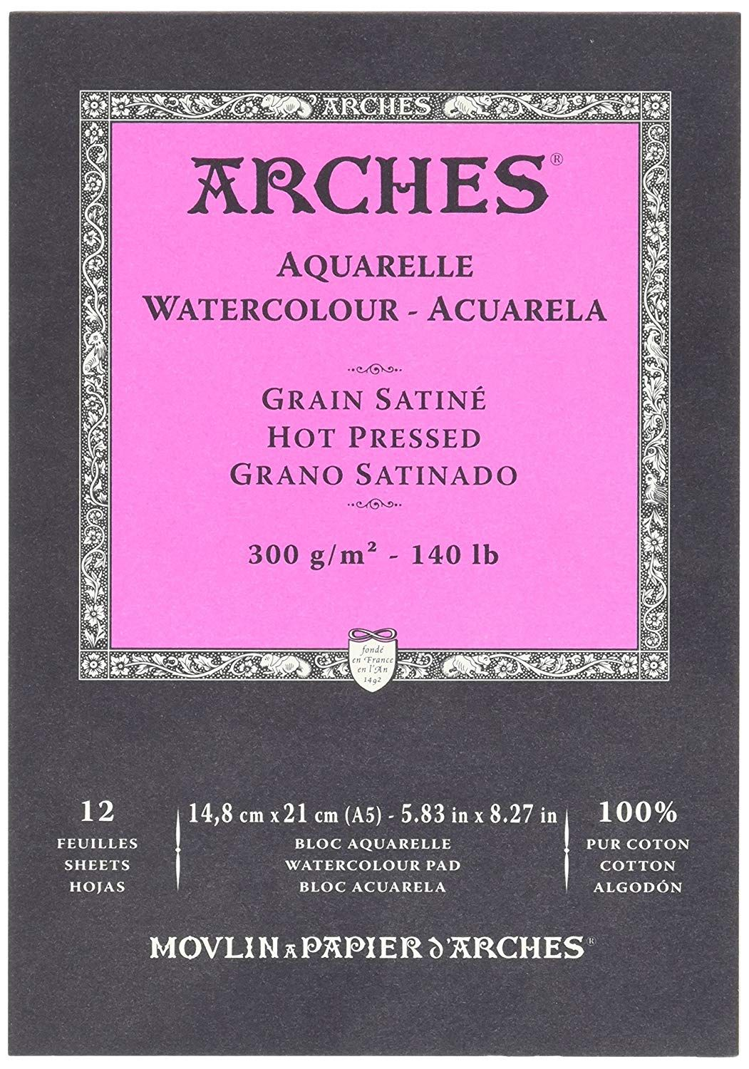 Arches Watercolor Blocks Arches Watercolor Paper Arches Paper