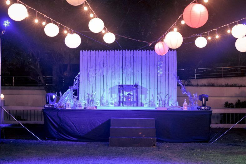 String Lights with Japanese Lanterns | Event styling and props by Something Pretty Manila #bohemian & String Lights with Japanese Lanterns | Event styling and props by ... azcodes.com