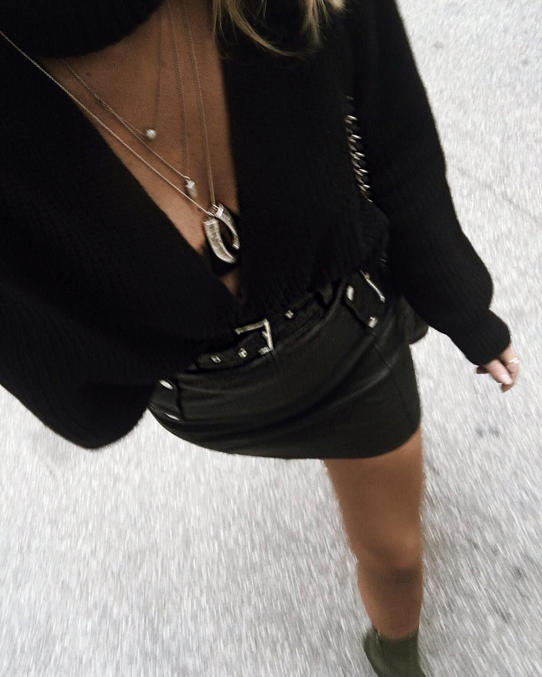 #leather #skirt, sexy!