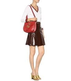 Gucci - GG Marmont leather shoulder bag - mytheresa.com