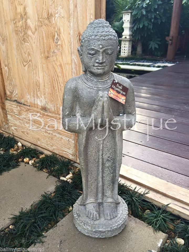 Balinese Standing Buddha Bali Garden Statue Garden