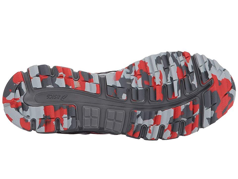 3a27875e9a52 ASICS Gel-Scram(r) 3 Men s Running Shoes Dark Grey Black Red Clay ...