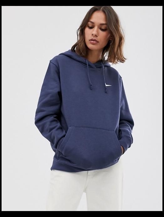 Pizza Orador lógica  Nike washed blue mini swoosh oversized hoodie   ASOS #nike #blue #hoodie  Nike washed blue mini swoosh oversize… in 2020   Nike hoodie outfit, Hoodies,  Athletic wear fashion