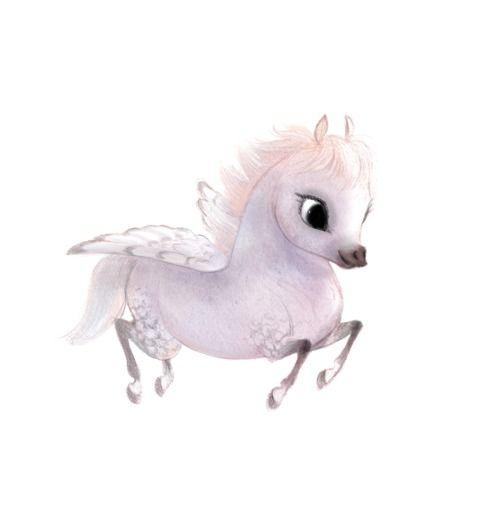 Cutest pegasus illustration by Syd's I