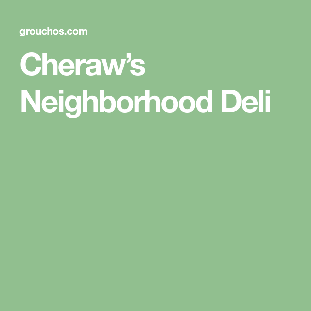 Affordable Apartments In Charleston Sc: Groucho's® Deli Of Cheraw