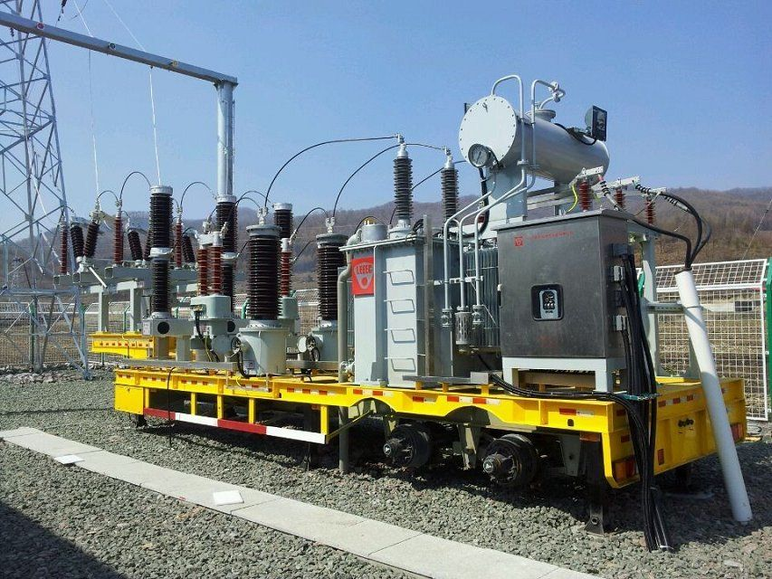 Our Mobile Substation operating in Liaoning, China | Our Mobile