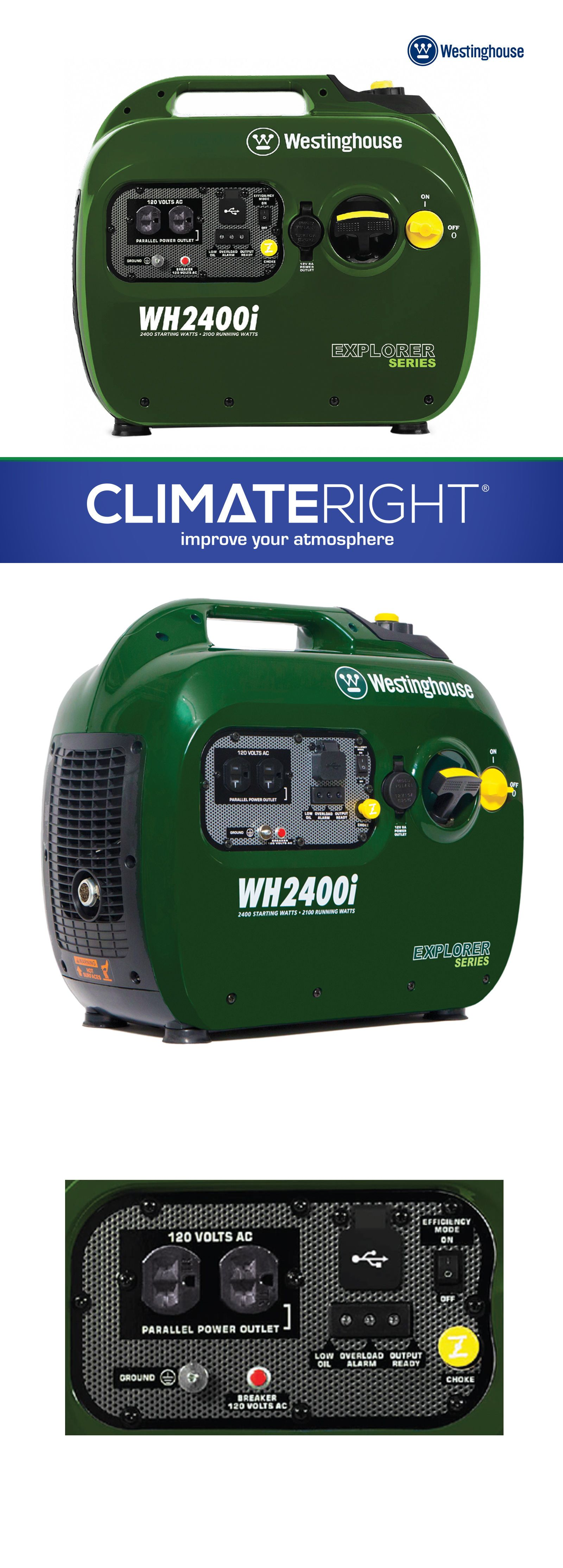 generators and heaters 16039 westinghouse wh2400i inverter