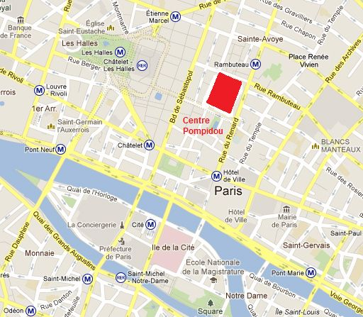 emplacement 4th arrondissement le centre pompidou pinterest centre. Black Bedroom Furniture Sets. Home Design Ideas